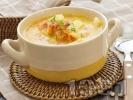 Рецепта Картофена супа с бекон и копър